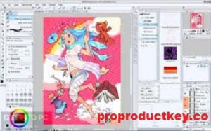 Clip Studio Paint Pro 1.10.6 Crack With License Key Full Download 2021